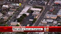 LAPD Reportedly Chase Armed Man Who Flees Into Elementary School