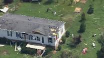 Officials investigating possible tornado damage in Franklin County