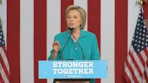 Clinton: Trump Has Used 'Prejudice and Paranoia' in Campaign