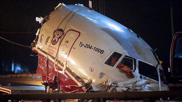 Aftermath of deadly Russian plane crash