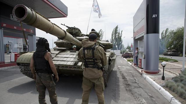 Ukraine Fights 'foreign Mercenaries' In Its East, Says President
