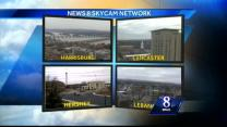 Expect scattered snow showers, wintry mix