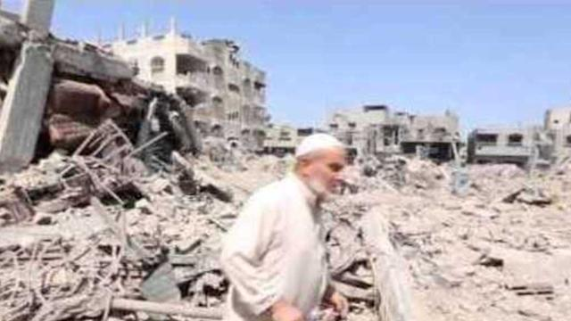 Red Cross documents return of residents to rubble in Gaza