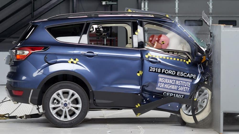 搭這款車更安全!IIHS公布7款SUV副駕駛座撞擊成績