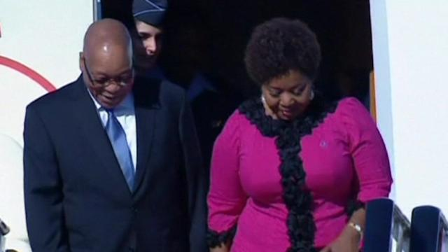 Zuma, Lagarde arrive for G20