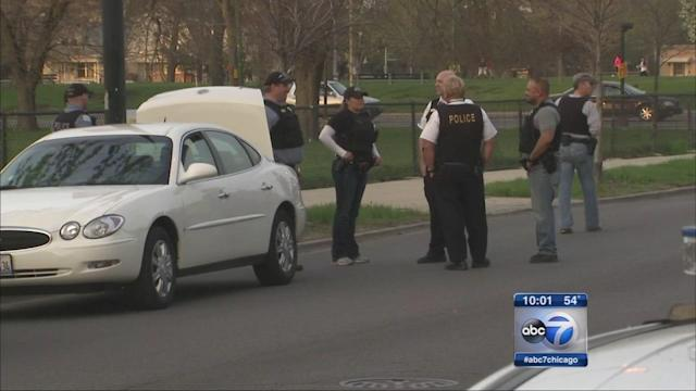 76-year-old woman shot while driving in Brighton Park, released from hospital