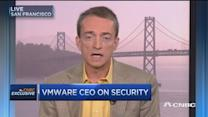 VMware CEO live from VMworld conference