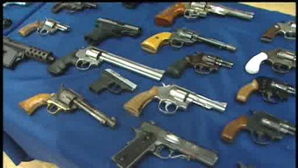 More than 100 illegal guns recovered in trafficking bust