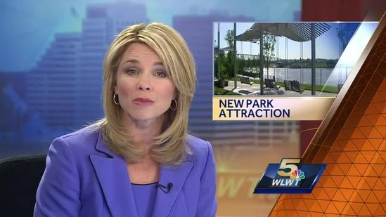 New garden at riverfront park dedicated