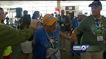Honor Flight veterans participate in special ceremony at Arlington