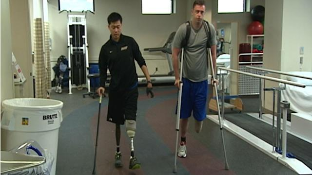 Damaged But Not Defeated: The Story of Two Wounded Warriors Overcoming Their Injuries