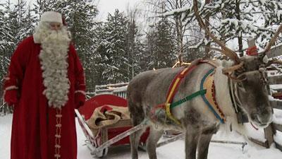 Raw: Santa Readies for Midnight Ride