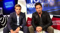 Chasing Handsome with 'Chasing Mavericks' Stars Gerard Butler and Jonny Weston