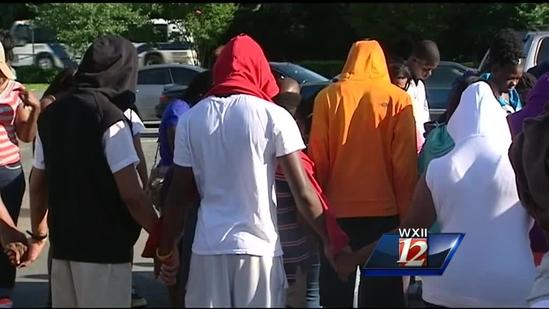 Local Protest of George Zimmerman Verdict