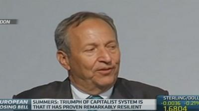 Capitalism has 'triumphed': Summers