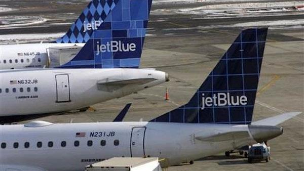 Planes bump at JFK Airport