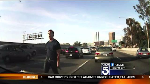 Wild Road Rage Incident Caught on Camera