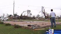 Tornado victims say they're lucky to be alive