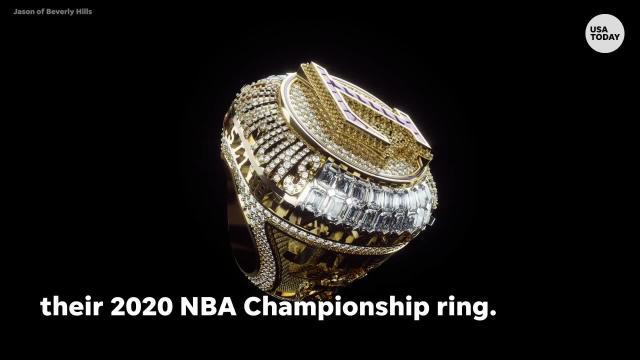 Nba Lakers Honor Kobe Bryant With 2020 Championship Rings
