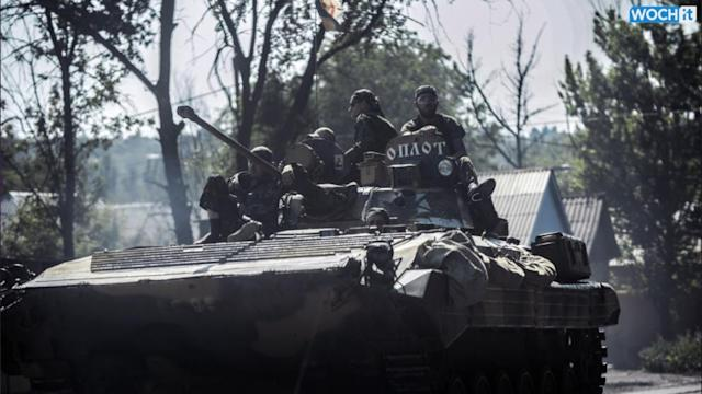 Fighting Intensifies Near MH17 Disaster Site