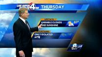 John Cessarich's forecast for May 15, 2013