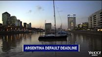 11th Hour negotiations to avoid Argentina default