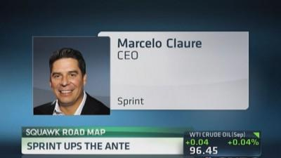 Sprint ups the ante