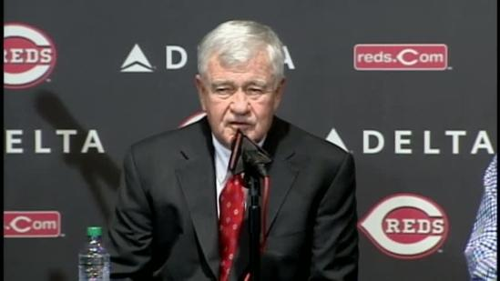 Raw: Conference on Dusty Baker's contract extension