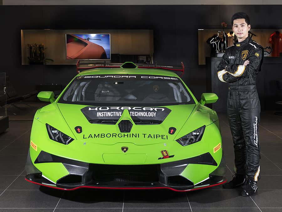 台灣賽車實力新秀陳意凡將代表Lamborghini Taipei參賽