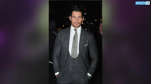 David Gandy At 5th Annual Rodial Beautiful Awards