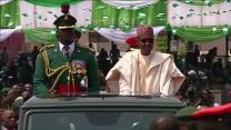 Celebrating a new president in Nigeria