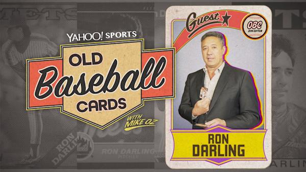Old Baseball Cards Mlb Networks Ron Darling Talks About