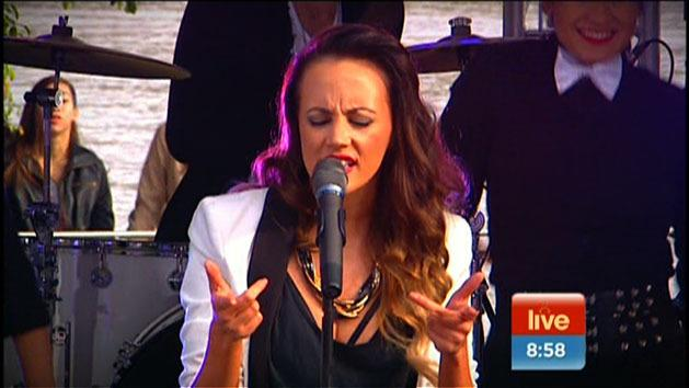 Samantha Jade sings 'What You've Done to Me'