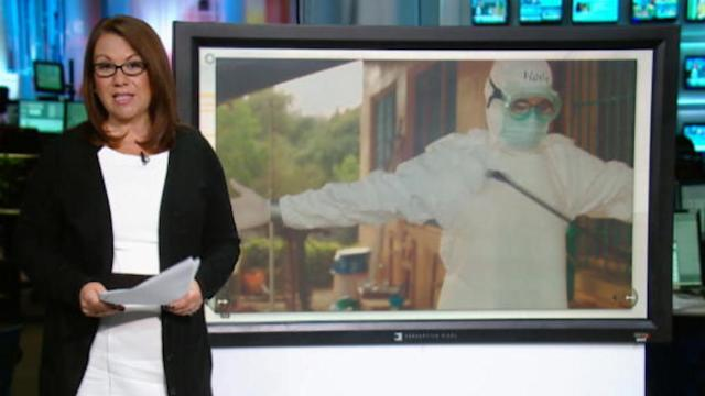 Ebola travel warning