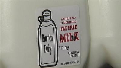 Bacteria In Milk Sickens Several