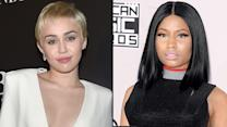 Miley Cyrus Throws Some Shade At Nicki Minaj