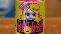Racy beer can brews controversy
