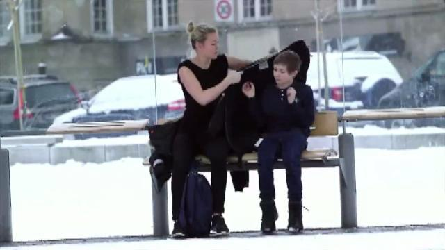 Strangers Give Shivering Child Coats Off their Backs in Hidden Camera Experiment