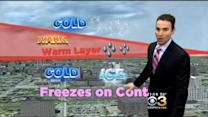 Justin's Wintry Forecast: March 1, 2015