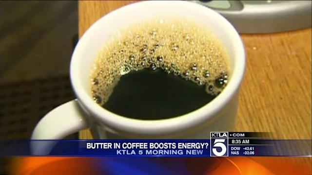 Butter Coffee Said to Boost Engergy, Promote Weight Loss