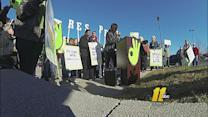 Workers protest wages at Raleigh Walmart