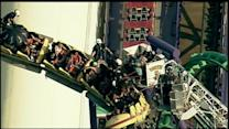 Riders Stuck Atop Roller Coaster at Six Flags America