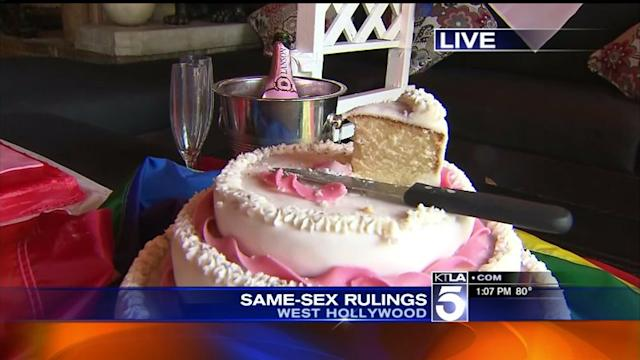 Celebrations Underway in West Hollywood Following Supreme Court Decisions