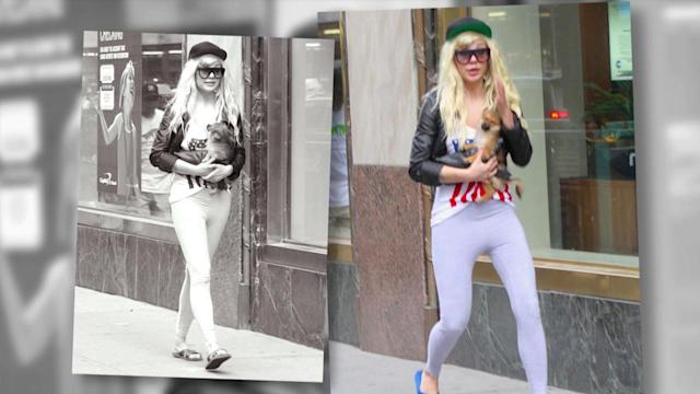 Amanda Bynes Spotted in NYC with New Puppy