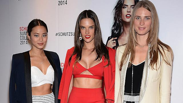 Alessandra Ambrosio Proves You're Nothing Without Your Crop Top - Today on POPSUGAR Live!