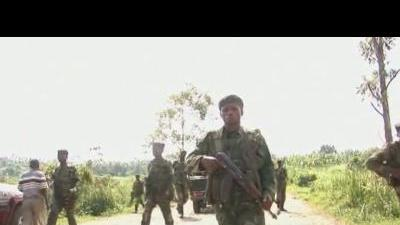 DR Congo rebels shell government troops