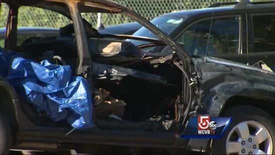 Amy Lord SUV found burned