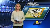Towson football coach gets ear pierced for ...