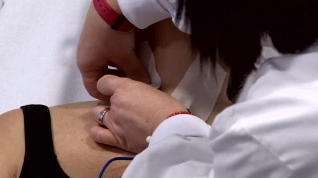 The ANESA tests blood - without a needle