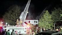 Fire erupts while family sleeps in West Deptford